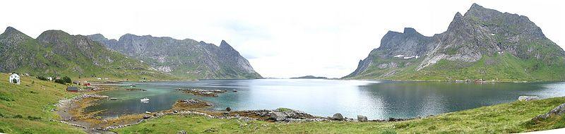 Bas Fjord aux Lfoten par Eltouristo