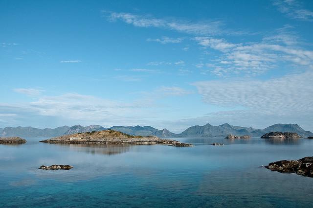 Henningsvær, îles Lofoten en Norvège