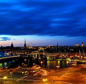 Stockholm night.... the magical hour par Hector Melo