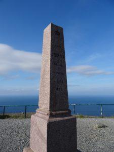 Monument pour le passage d'Oscar II du Roi de Suède et de Norvège en 1873.