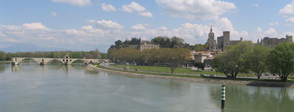 Avignon et le Rhône