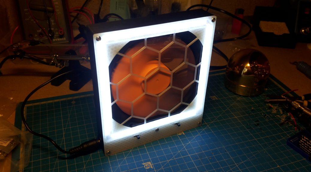 Lampe/Extracteur allumé